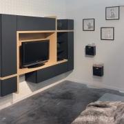Création composition meuble TV pour chambre