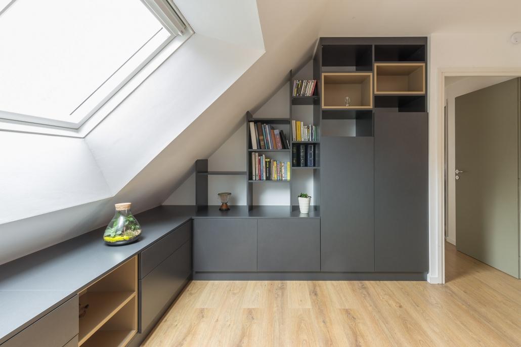 am nagement mezzanine vannes int rieurs priv s. Black Bedroom Furniture Sets. Home Design Ideas